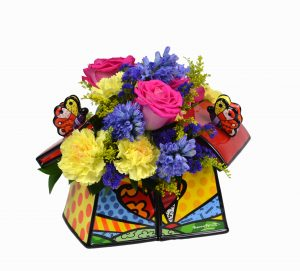 KG1610_Britto Double Butterfly Cookie Jar