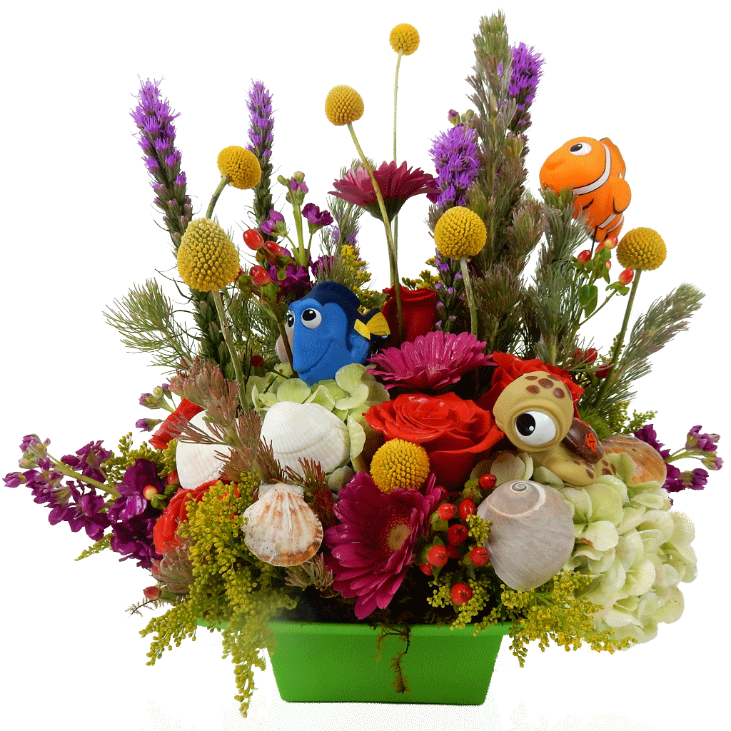 Nemos Garden Flower Arrangement