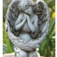 "13"" Inspirational Angel with Bird Feeder Wings"