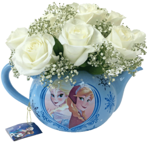 Flowers & Tea with Frozen Princesses