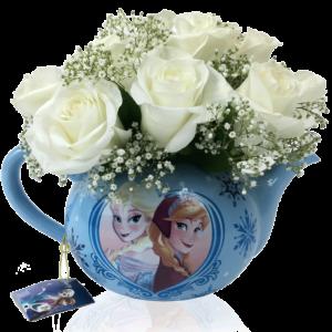 Flowers & Tea with Frozen Princesses
