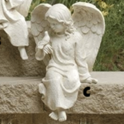 inspirational sitting cherub angels