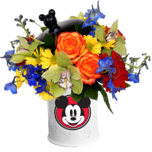 Mickey Mouse Cookie Jar Bouquet