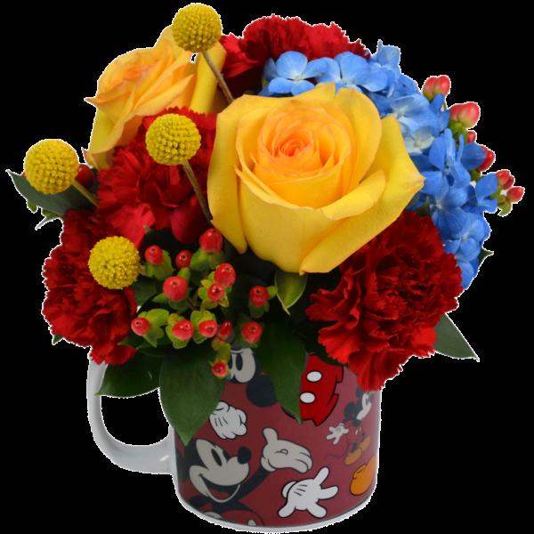 Mickey's Magic Flower Mug