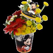 Mickey's Toothbrush Garden