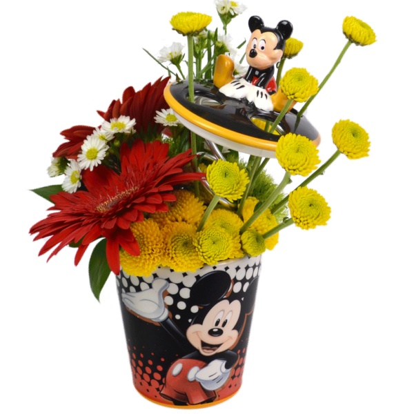 Mickey's Toothbrush Garden