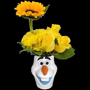 Olaf Flower Mug