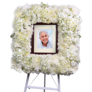 Stunning Tribute Flower Frame