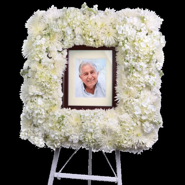 Stunning Tribute Flower Frame