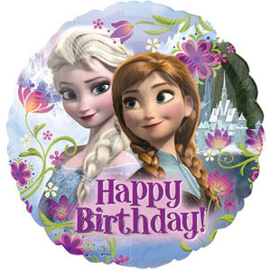 "18"" Disney Frozen Birthday Balloon"