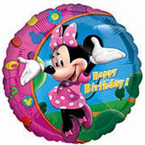 "17"" Minnie Mouse Happy Birthday"