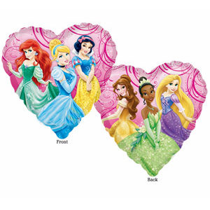 "18"" Disney Princesses Mylar Balloon"