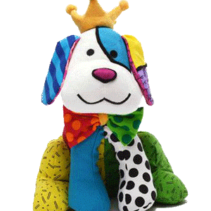 Britto Royalty Dog Plush