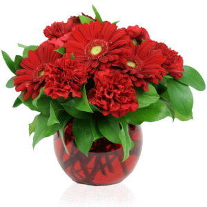 Redder Than Red Floral Bouquet