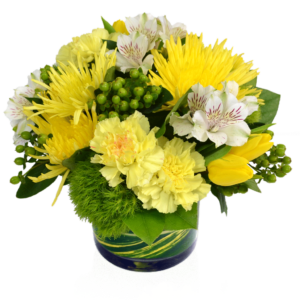 Caribbean Splash Yellow Flowers
