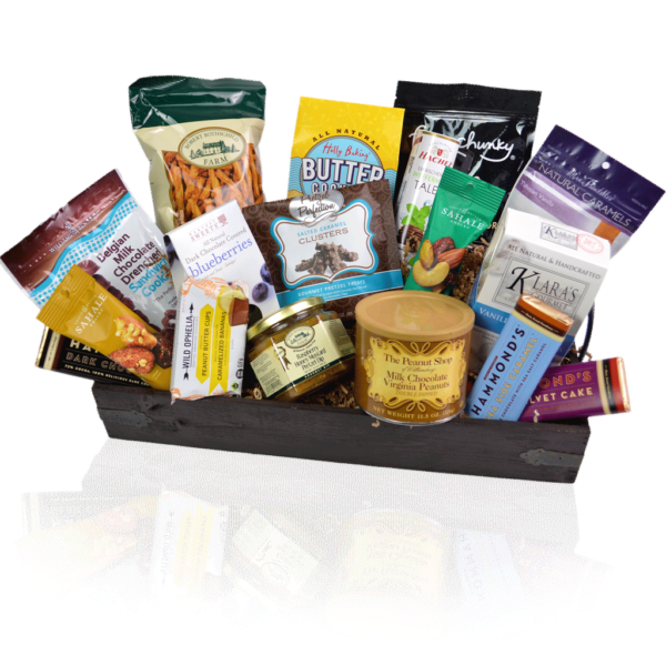 Easy to Eat Easy to Share Gift Basket