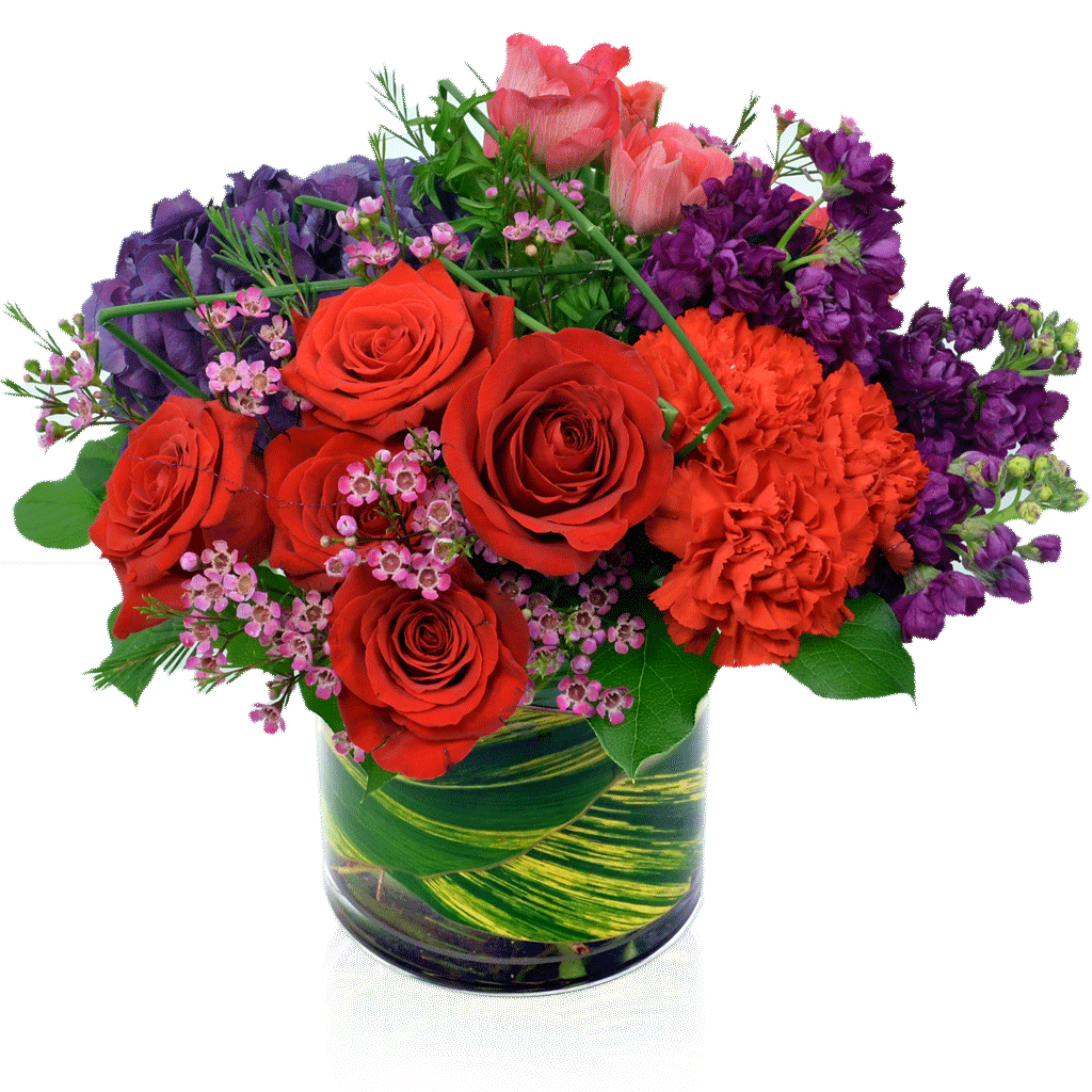 Fire & Desire Flower Arrangement