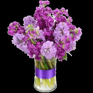 Hyacinth Harbor Flower Arrangement