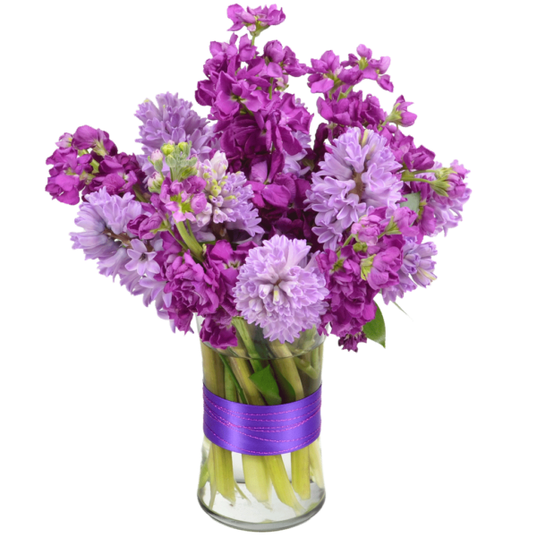 Hyacinth Harbor Flower Arrangement