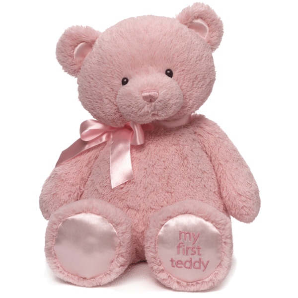 My 1st Teddy Pink Front