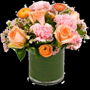 Peach Rose Passion Bouquet
