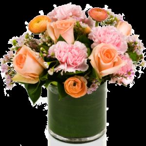 peach-rose-passion-flowers