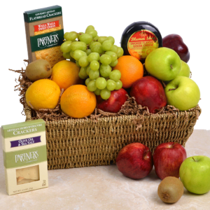 Produce A Smile Gift Basket