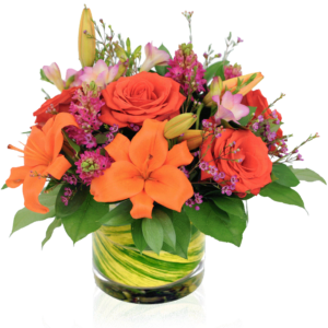 Radiant Paradise Flower Arrangement