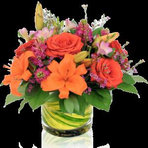 Radiant Paradise Flower Arrangement