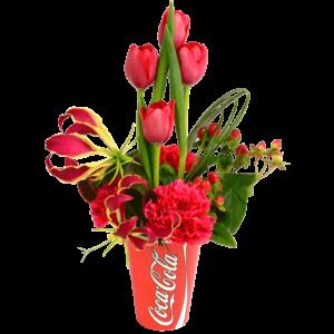 Refreshingly-Beautiful-Coke-Bouquet