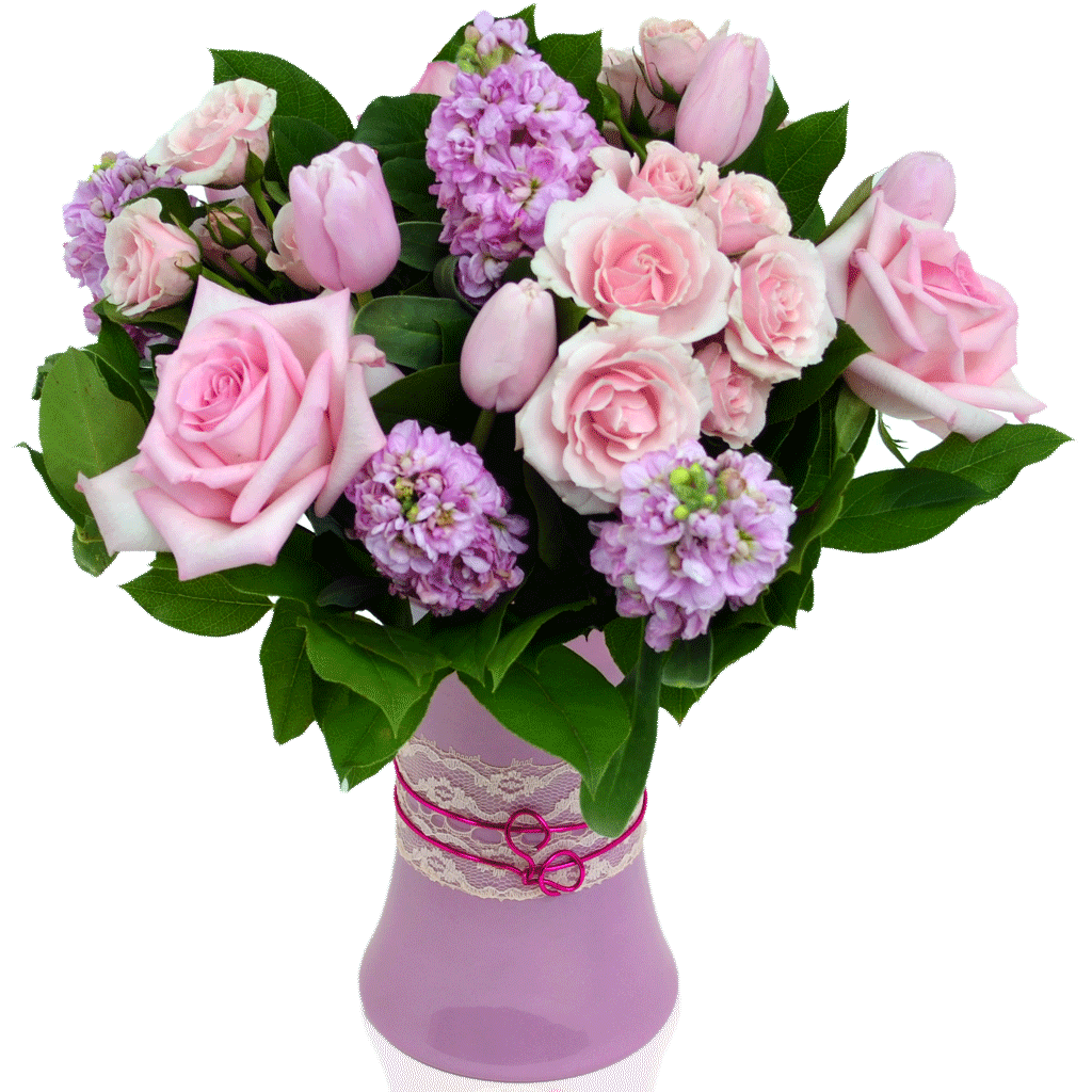 Pink Passion Bouquet Is Designed By Award Winning Karins Florist