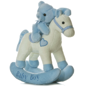 Baby Boy Musical Rocking Horse