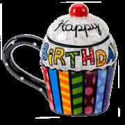 Britto Cupcake Mug