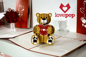 Love Pop Greeting Card