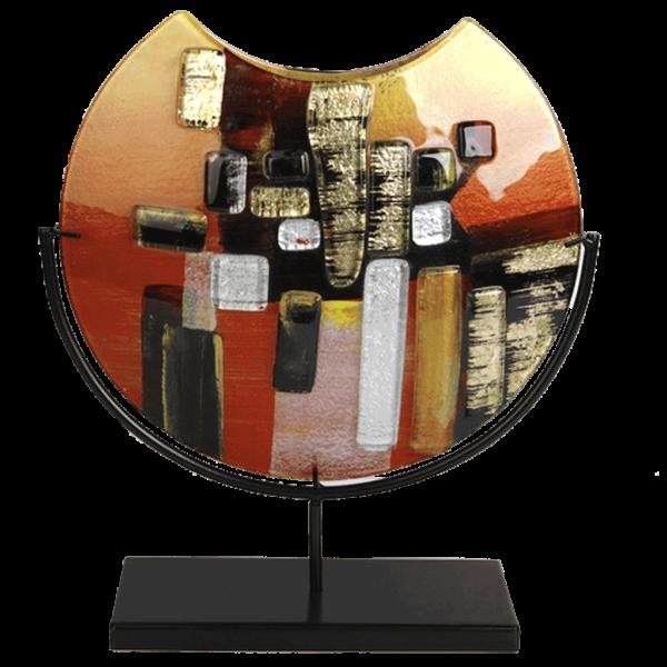 Abstract Cutaway Vase