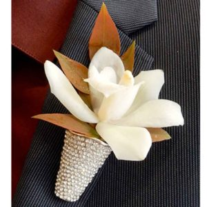 Bling King boutonniere