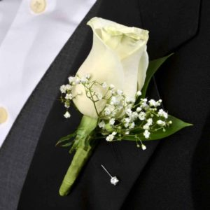 Classic Rose Boutonniere