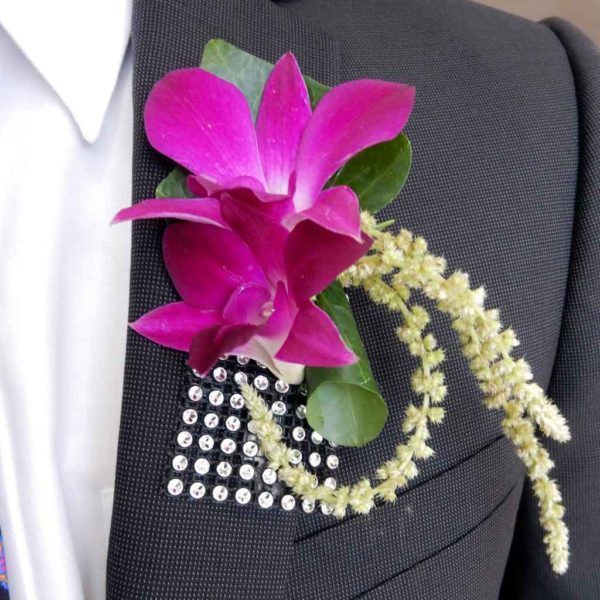 Dashing Dendros Boutonniere