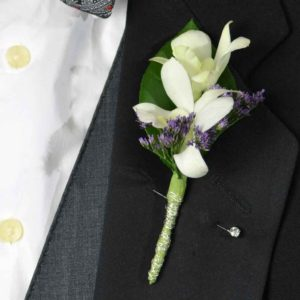 Double Delight Boutonniere