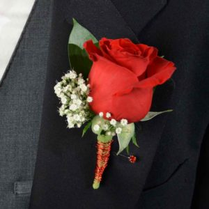 Party Prince Boutonniere