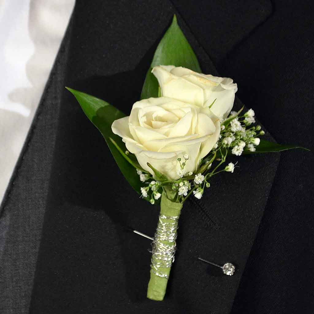 sweetheart boutonniere, Beautiful flower