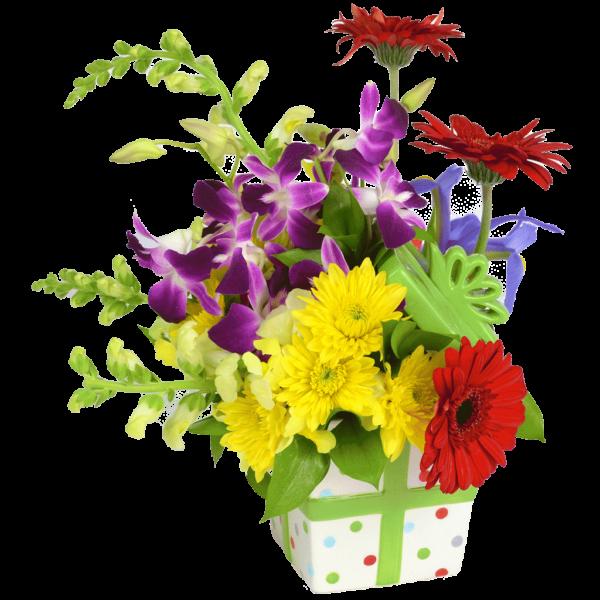 Birthday Present Bouquet