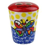 Britto Toothbrush Holder