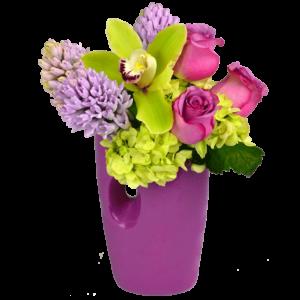 The Color Purple Bouquet
