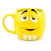 Yellow 3D M&M Mug