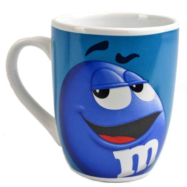 Blue m&m Mug