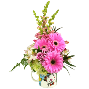Britto Coca-Cola Mug Bouquet