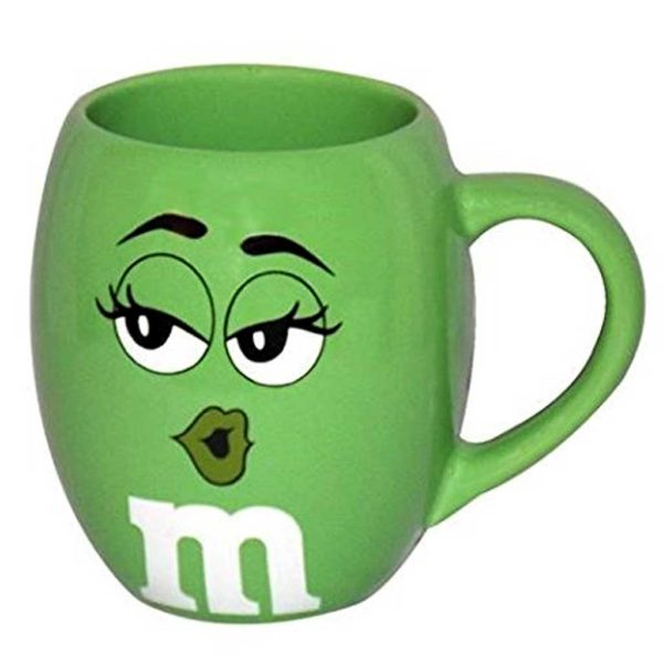 Green m&m Mug