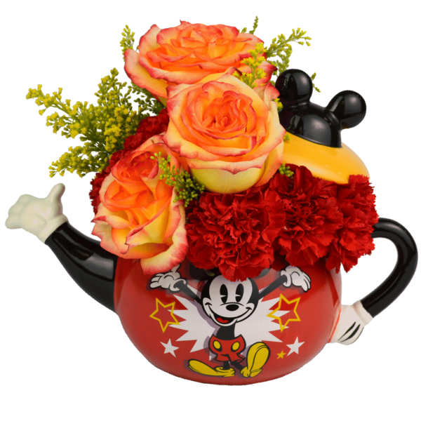 Flowers & Tea With Mickey