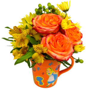 Wonderland Mug Bouquet